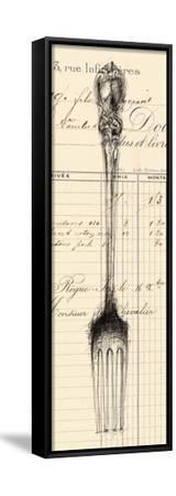 Fork Document-Z Studio-Framed Stretched Canvas Print