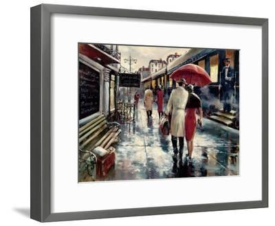 Metropolitan Station-Brent Heighton-Framed Art Print
