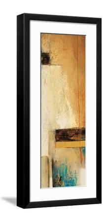 Ocaso Ochre 2-Gabriela Vilarreal-Framed Art Print