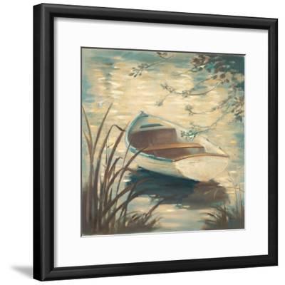 Through the Grasses-Paulo Romero-Framed Premium Giclee Print
