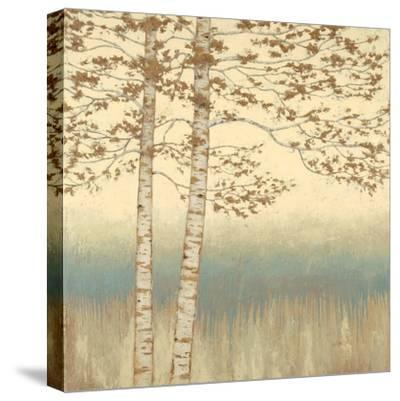 Birch Silhouette 1-James Wiens-Stretched Canvas Print