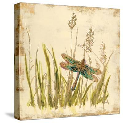 Dragonfly Meadow-Bella Dos Santos-Stretched Canvas Print