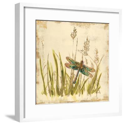 Dragonfly Meadow-Bella Dos Santos-Framed Art Print