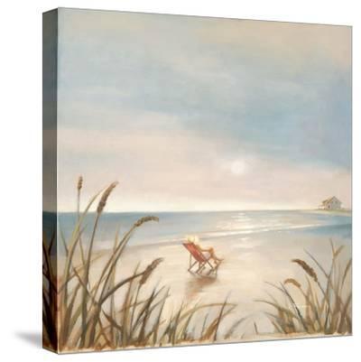 Beach Cottage-Paulo Romero-Stretched Canvas Print