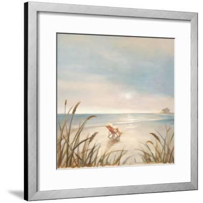 Beach Cottage-Paulo Romero-Framed Premium Giclee Print