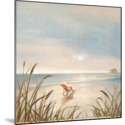 Beach Cottage-Paulo Romero-Mounted Premium Giclee Print