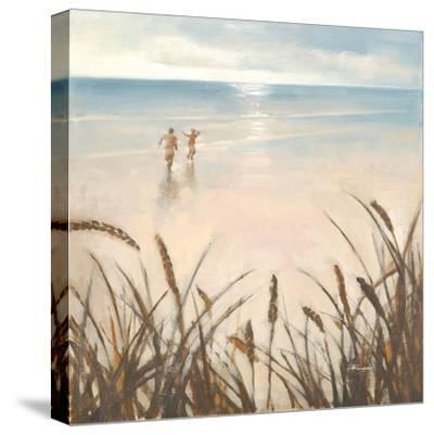 Sand Grasses-Paulo Romero-Stretched Canvas Print