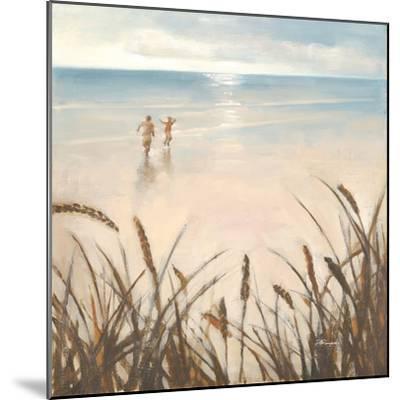 Sand Grasses-Paulo Romero-Mounted Premium Giclee Print