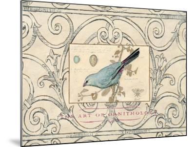 Songbird Etching 2-Chad Barrett-Mounted Art Print