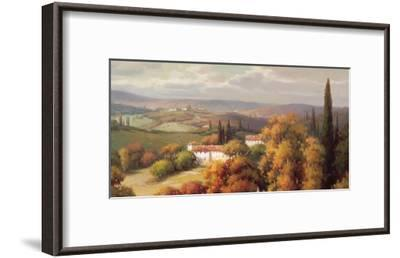 Tuscan Panorama-Vail Oxley-Framed Art Print