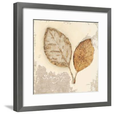 Natural Simplicity-James Wiens-Framed Art Print