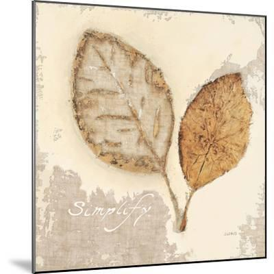 Natural Simplicity-James Wiens-Mounted Art Print