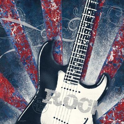 Rock Guitar-Morgan Yamada-Framed Art Print