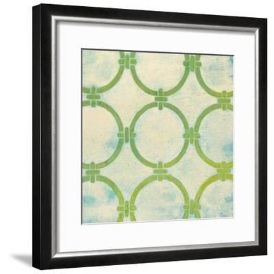 Circle Lattice-Hope Smith-Framed Art Print
