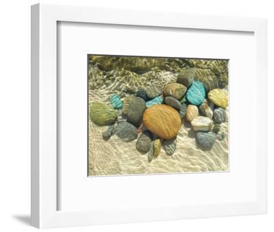 Beach Stones-Mark Goodall-Framed Premium Giclee Print