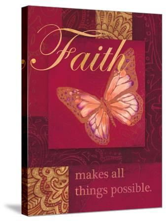 Faith Tapestry-Laurel Lehman-Stretched Canvas Print