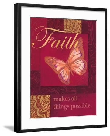 Faith Tapestry-Laurel Lehman-Framed Art Print