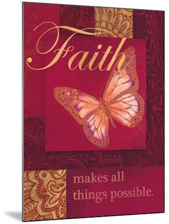 Faith Tapestry-Laurel Lehman-Mounted Art Print