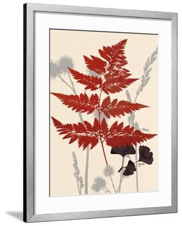 October Fern 1-Bella Dos Santos-Framed Art Print