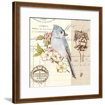 Bird Sketch 4-Chad Barrett-Framed Art Print
