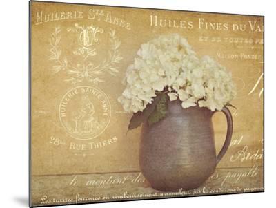Heirloom Bouquet 2-Cristin Atria-Mounted Art Print