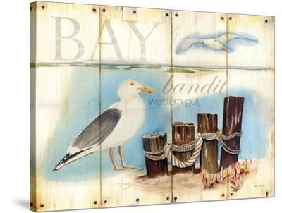 Bay Gull-Mary Escobedo-Stretched Canvas Print