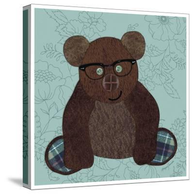 Friendly Bear-Morgan Yamada-Stretched Canvas Print