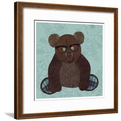 Friendly Bear-Morgan Yamada-Framed Art Print