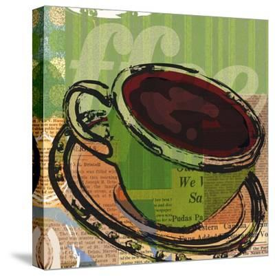 Etched Coffee-Walter Robertson-Stretched Canvas Print