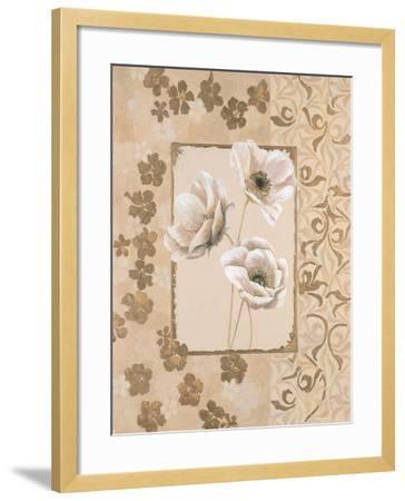 Anemone Elegance-Colleen Sarah-Framed Art Print