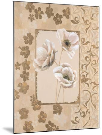 Anemone Elegance-Colleen Sarah-Mounted Art Print