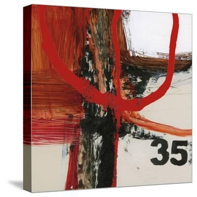 Abstract Digits-Natasha Barnes-Stretched Canvas Print
