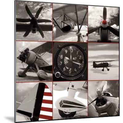 Aircraft Montage-Matt McCarthy-Mounted Art Print