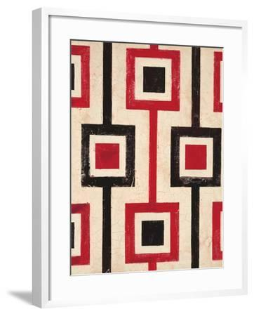 Square Textile-Hope Smith-Framed Art Print