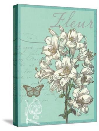 Fleur Nouveau-Devon Ross-Stretched Canvas Print