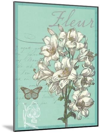 Fleur Nouveau-Devon Ross-Mounted Art Print