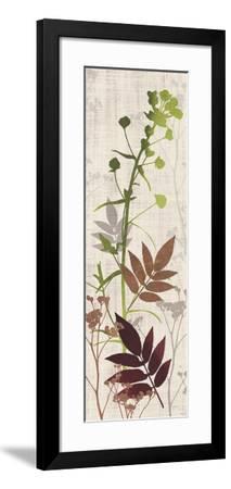 Rainforest Silhouettes 1-Bella Dos Santos-Framed Art Print