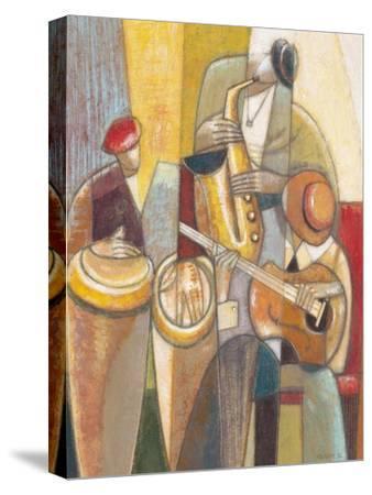 Cultural Trio 1-Norman Wyatt Jr^-Stretched Canvas Print