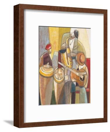 Cultural Trio 1-Norman Wyatt Jr^-Framed Premium Giclee Print