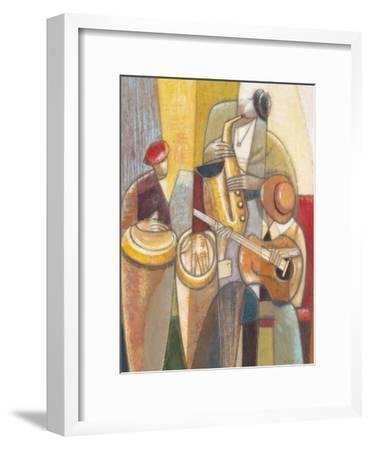 Cultural Trio 1-Norman Wyatt Jr^-Framed Art Print