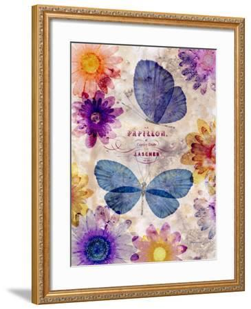 Fleur De Papillion 1-Morgan Yamada-Framed Art Print