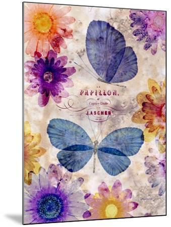 Fleur De Papillion 1-Morgan Yamada-Mounted Art Print