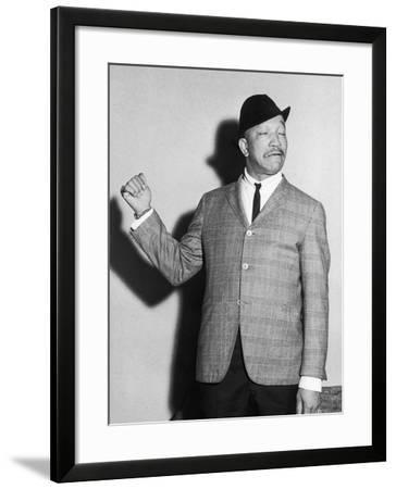 Redd Foxx, Backstage, Chicago's Tivoli Theater, May 1961-Isaac Sutton-Framed Photographic Print