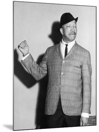 Redd Foxx, Backstage, Chicago's Tivoli Theater, May 1961-Isaac Sutton-Mounted Photographic Print