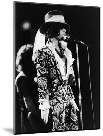 Prince Sings in Concert, 1984-Vandell Cobb-Mounted Photographic Print