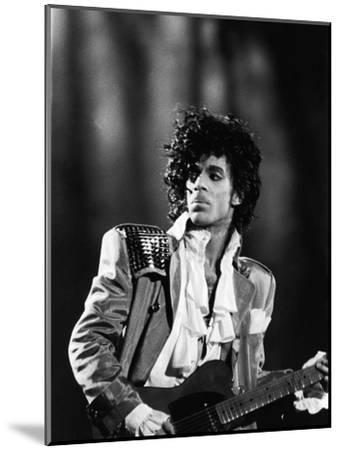 Prince, Concert Performance, 1984 Photo-Vandell Cobb-Mounted Photographic Print