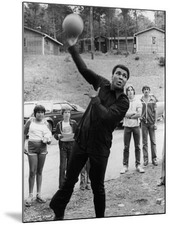 Muhammad Ali , Training Camp, July of 1978-Vandell Cobb-Mounted Photographic Print