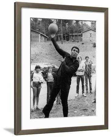 Muhammad Ali , Training Camp, July of 1978-Vandell Cobb-Framed Photographic Print