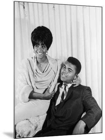 Muhammad Ali  with Wife Sonji Roi, August 1964-Isaac Sutton-Mounted Photographic Print