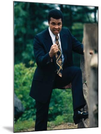 Muhammad Ali, Training Camp, July 1974-Leroy Patton-Mounted Photographic Print